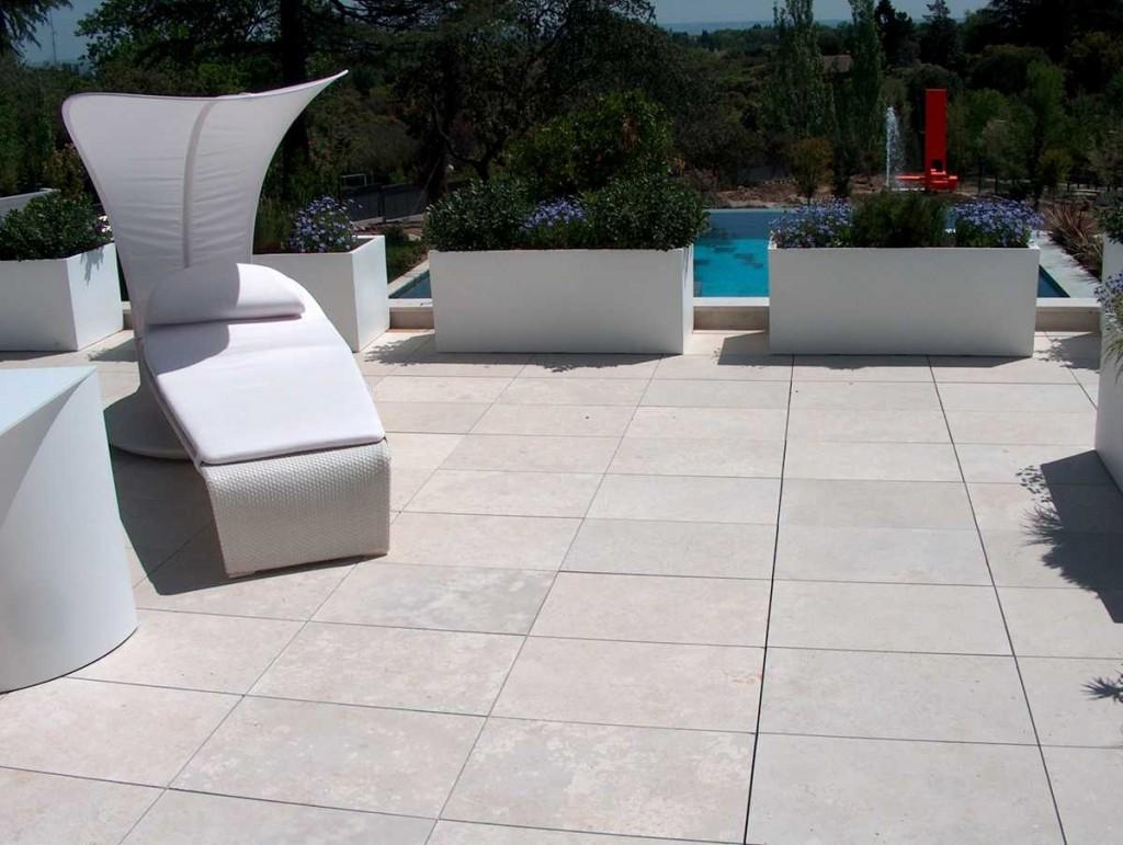 Solado de exteriores materiales de construcci n para la - Gres para exteriores ...